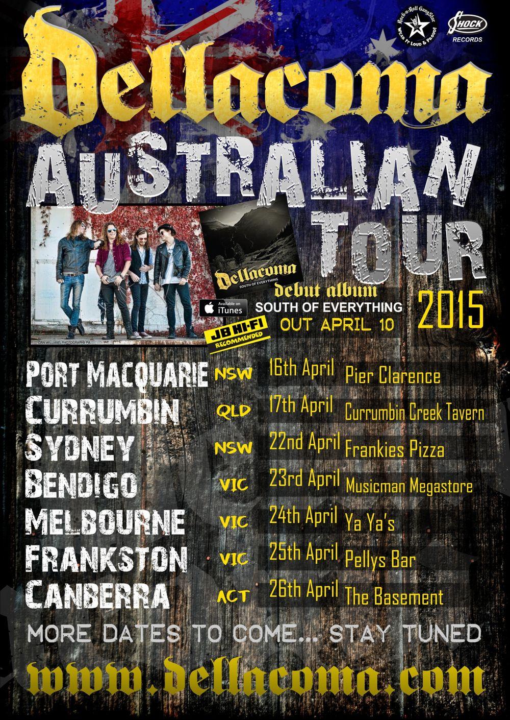 The Basement Canberra Part - 18: City : Canberra Venue : The Basement. Dellacoma Australian Tour